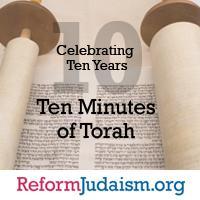 Ten Minutes of Torah